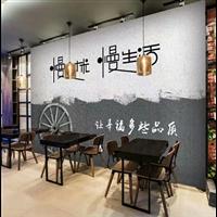 人民广场餐厅、酒店、KTV墙绘彩绘…