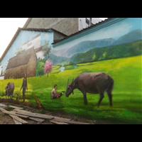 襄阳文化墙绘彩绘大师阿布