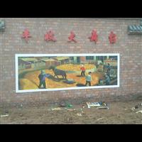 襄阳文化墙绘彩绘已完成