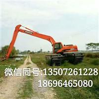 湖南长沙水陆挖机出租