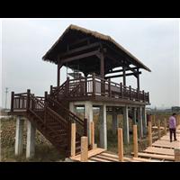 宁波防腐木护栏21
