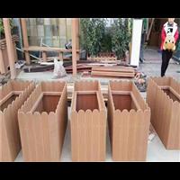 山东防腐木花箱1