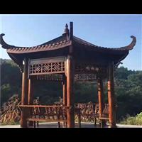 济南防腐木凉亭批发3