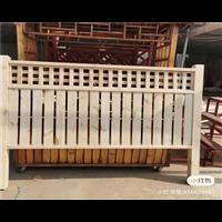 济南防腐木护栏3