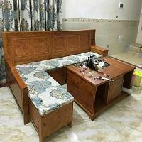 江门红木座垫浅谈3种沙发的清洗技巧