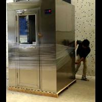 成都QS认证风淋室 自动感应双人双吹风淋室