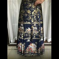 成都服装学校学员作品汉服系一片式马面裙