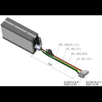 300W输入输出非隔离36V直流转12VDCDC直流转换器25A
