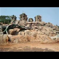 桂林塑石假山-广西大自然生态环境艺术景观