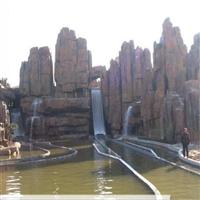 山西塑石假山-山西大自然生態環境藝術景觀
