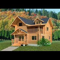 乌海防腐木木屋