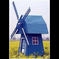 鄂尔多斯防腐木风车