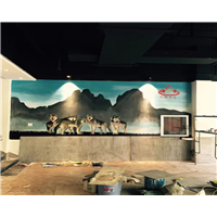 濮阳艺术墙体彩绘