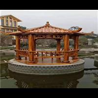 郑州防腐木凉亭2
