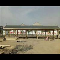 河南防腐木长廊12