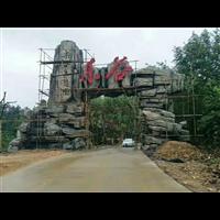 深圳塑石假山施工|深圳水泥塑石施工