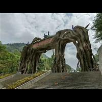 南充假山_泸州塑石假山_绵阳假山假树