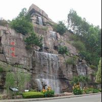 重庆塑石假山l四川生态园塑石假山雕塑工程有限公司