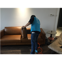 蔚海新天地客户家室内空气治理