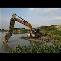 河道清淤设备出租多少钱?