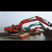 广东水陆两用挖掘机出租