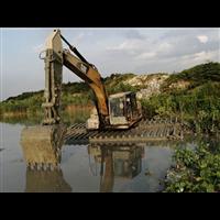 湖南水陆两用挖掘机出租