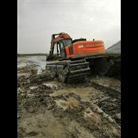安徽水陆两用挖掘机出租
