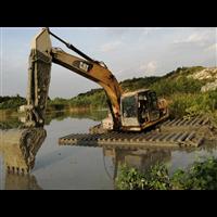 江西水上挖机租赁