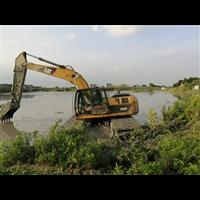 湖北水上挖机租赁