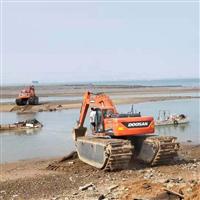 株洲水上清淤挖掘�C出租