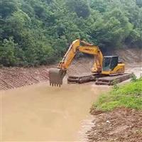 莆田水上清淤挖掘机出租