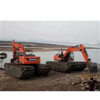 汕尾水上清淤挖掘机出租