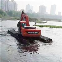 汕头水上清淤挖掘机出租