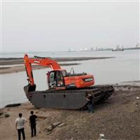 深圳水上清淤挖掘机出租