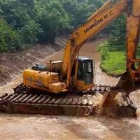 广州水上清淤挖掘机出租
