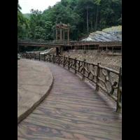 贵州河道仿木护栏-贵州仿木栏杆
