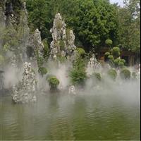 广西塑石假山施工|广西水泥塑石施工