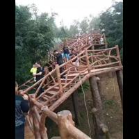 广西水泥仿木护栏-桂林仿木栏杆