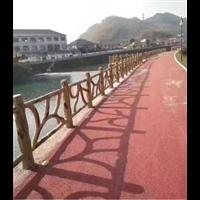 广西山道仿木栏杆-广西公园仿木栏杆