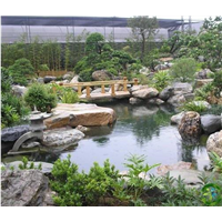 成都假山鱼池制作-四川假山鱼池施工