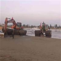 来宾水陆两栖挖掘机出租