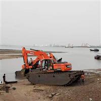河池水陆两栖挖掘机出租