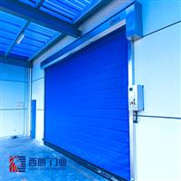 冷库出货口可以频繁快速开关的保温门