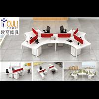 广州欧丽办公家具品牌定制公司屏风办公家具定做