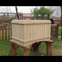 衡水防腐木花箱1