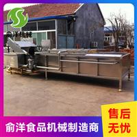 厂家生产多功能果蔬清洗机    辣椒气泡清洗机