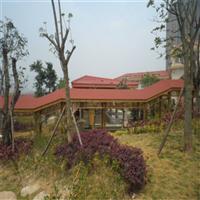 郑州防腐木廊架