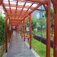 郑州防腐木葡萄架