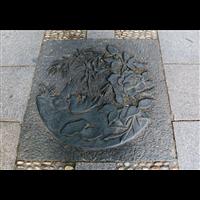 定做砂岩地雕青石地雕铜板地雕花岗石地雕广场地雕