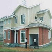 瑞昌轻钢结构房屋的欧松板施工